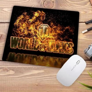 Video Gaming Tanks Style Mouse Pad - 003 - Mouse Pad