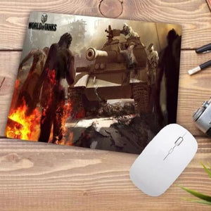 Video Gaming Tanks Style Mouse Pad - 004 - Mouse Pad