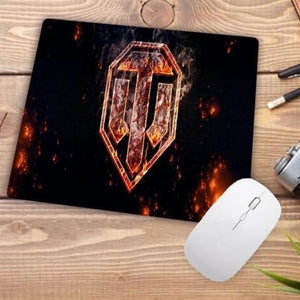 Video Gaming Tanks Style Mouse Pad - 005 - Mouse Pad