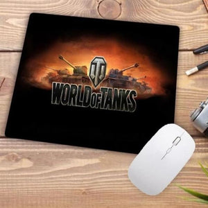 Video Gaming Tanks Style Mouse Pad - 007 - Mouse Pad