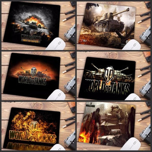 Video Gaming Tanks Style Mouse Pad - Mouse Pad