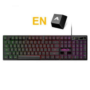Waterproof Backlit Gaming Keyboard - English - Keyboards