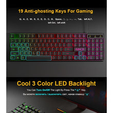 Load image into Gallery viewer, Waterproof Backlit Gaming Keyboard - Keyboards