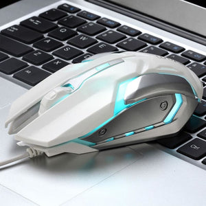Wired Gaming Mouse with LED Light - Mouse