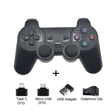 Load image into Gallery viewer, Wireless Controller with Cellphone Clip - Black with clip - Controllers