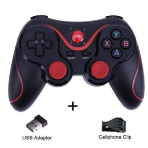 Wireless Mobile Joystick Game Controller - Black Style Sleek - Gamepads/Controllers