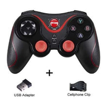 Load image into Gallery viewer, Wireless Mobile Joystick Game Controller - Black Style Smooth - Gamepads/Controllers
