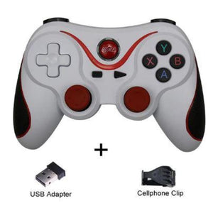 Wireless Mobile Joystick Game Controller - Grey Style Sleek - Gamepads/Controllers