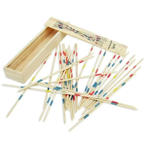 Wooden Game Sticks - MULTI - Magic Tricks