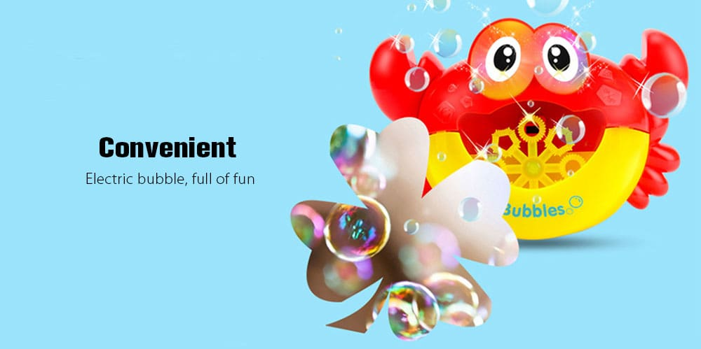 Education Toy Electric Blow Bubble Machine without Bubble Water