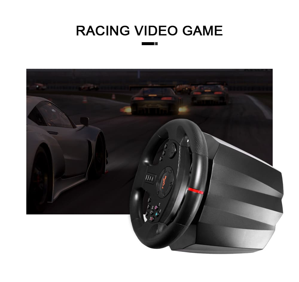 PXN PXN - V900 Gamepad Controller Steering Wheel PC Mobile Racing Video Game Vibration