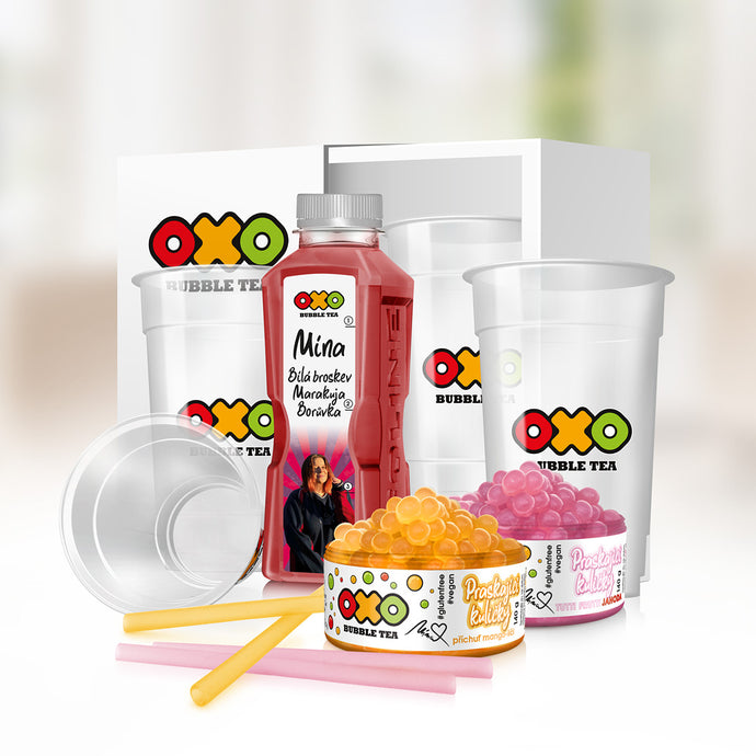 INFLUENCERSKÝ OXO HOME BUBBLE TEA KIT - MÍNA - www.oxoshop.cz