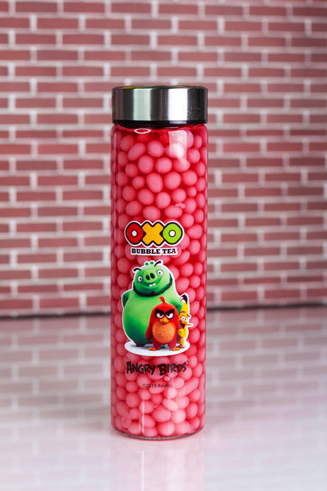 OXO Bubble Tea - Boba Bottle - Jahoda - www.oxoshop.cz