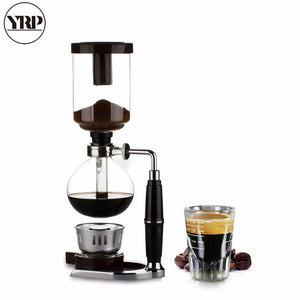 Japanese Style Coffee Syphon Pot 3/5 cups Siphon Coffee Drip Kettle Vacuum Filter Pot Cafetera TCA-3/5 Syphon Coffee Maker