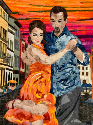 Textile Wallhanging, The Tango