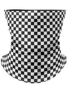 Checkers Gaiter Face Mask