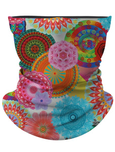 Multi-Color Floral Gaiter