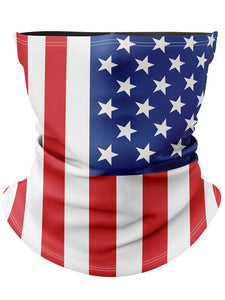 American Flag Gaiter Face Mask