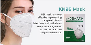 KN95 Face Masks - Pack of 20