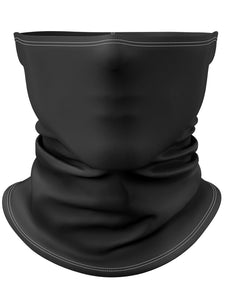 Black Gaiter Face Mask