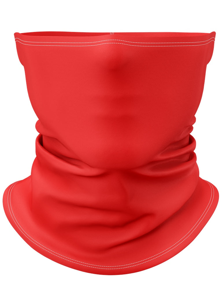 Red Gaiter Face Mask