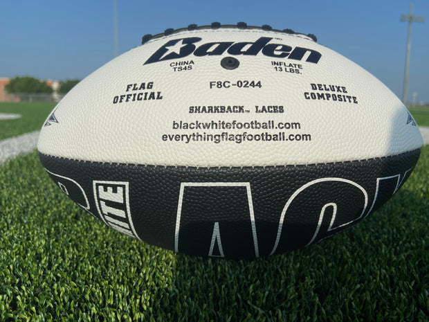 BLACKWHITE - The Official Flag Football - (OUT OF STOCK)