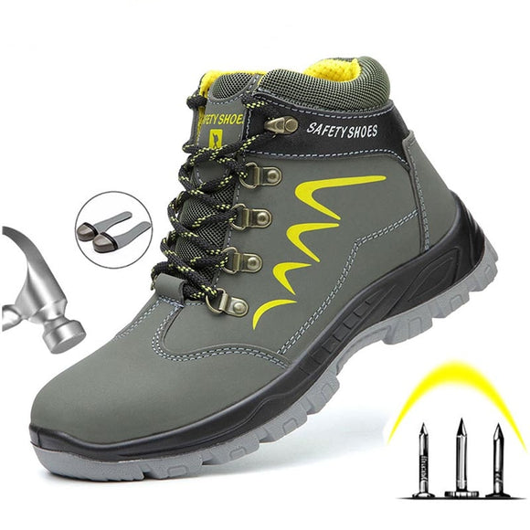 Safety Work Boots - water resistant with steel toe