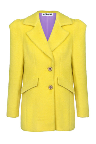 Jacket lemon wool