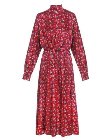Viscose dress flowery print