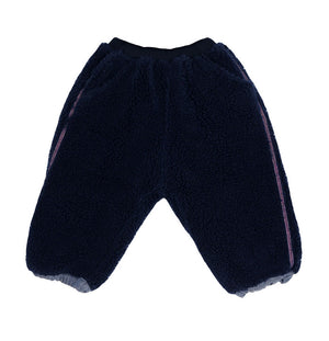 SCON Fuzzy Fur Pants at Color Me WHIMSY Hip Kid's Fashion Ethically Made in South Korea