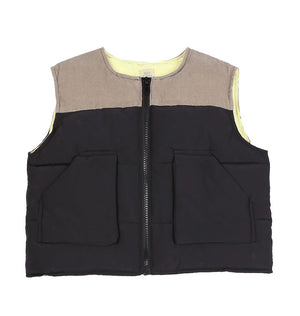 BN Wide Padded Vest at Color Me WHIMSY Hip Kid's Fashion Ethically Made in South Korea