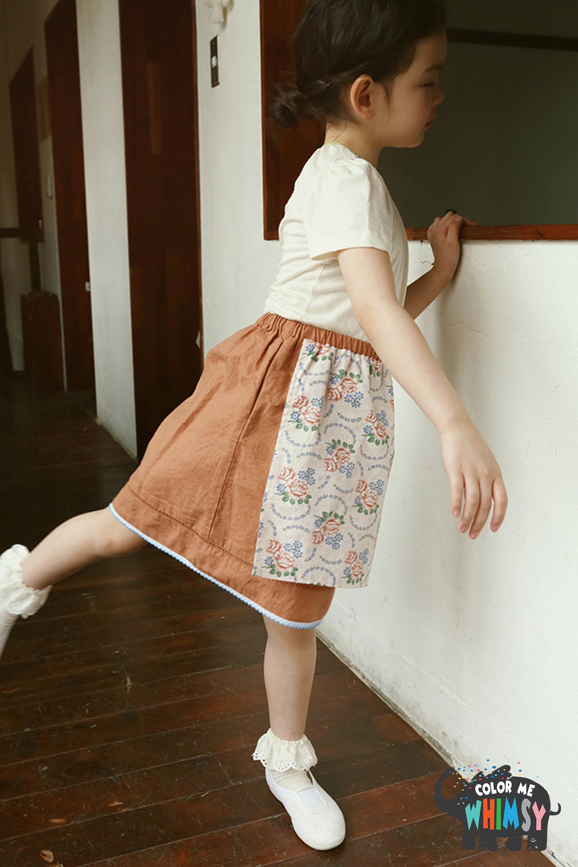 Amber Vintage Durin Skirt - Two Colors - Color Me WHIMSY