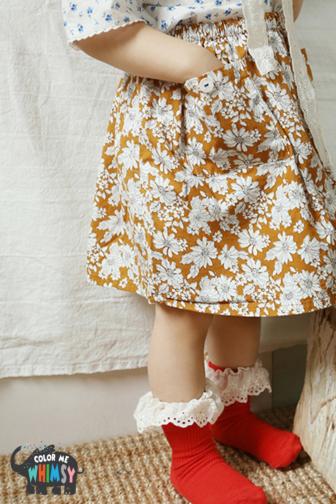 Amber Vintage Rikyu Skirt Set-up - Sold Out - Color Me WHIMSY