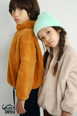 BN Boa Pullover at Color Me WHIMSY Hip Kid's Fashion Ethically Made in South Korea