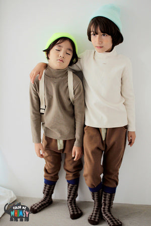 BN Eve Baggy Pants at Color Me WHIMSY Hip Kid's Fashion Ethically Made in South Korea