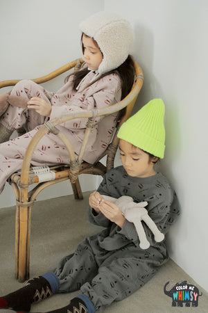 BN Mongmong Set at Color Me WHIMSY Hip Kid's Fashion Ethically Made in South Korea