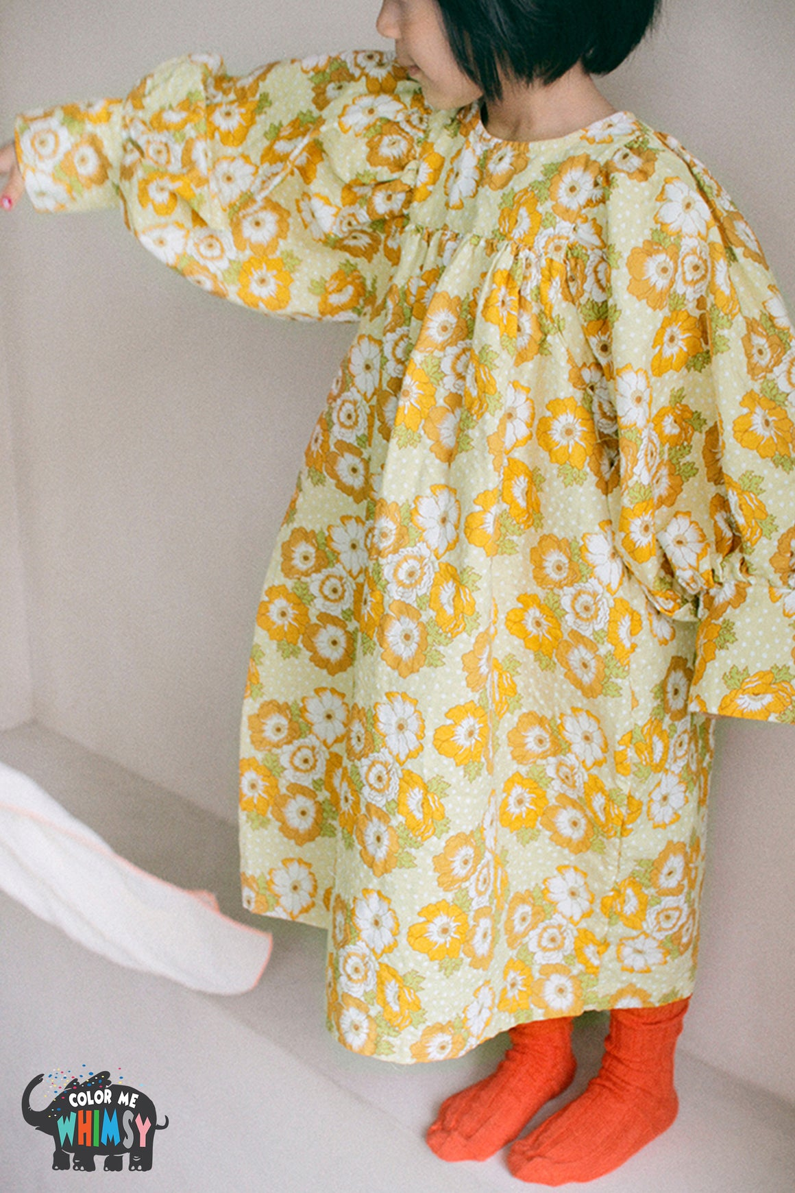 BN Retro Dress - Two Patterns - Color Me WHIMSY