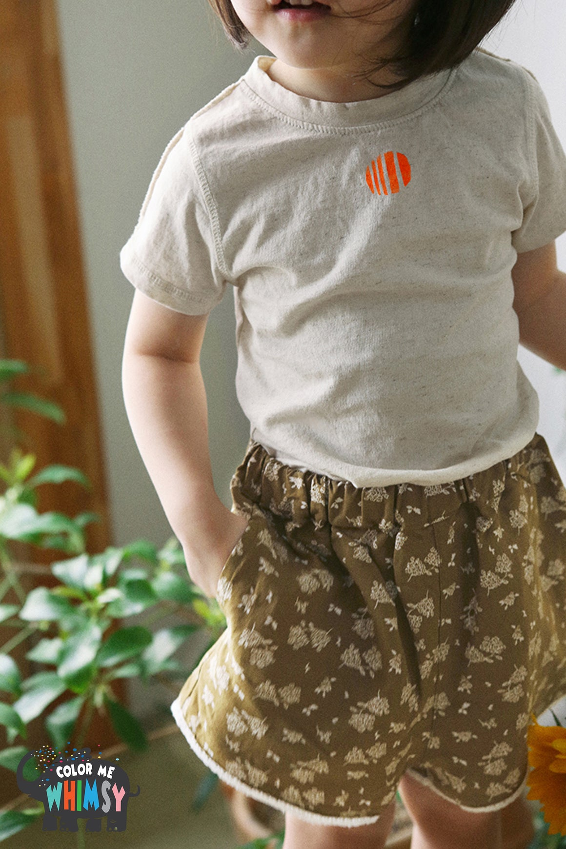 BN Skinny T-shirt at Color Me WHIMSY Hip Kid's Fashion Ethically Made in South Korea