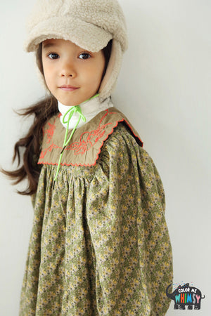 BN Venis Dress at Color Me WHIMSY Hip Kid's Fashion Ethically Made in South Korea