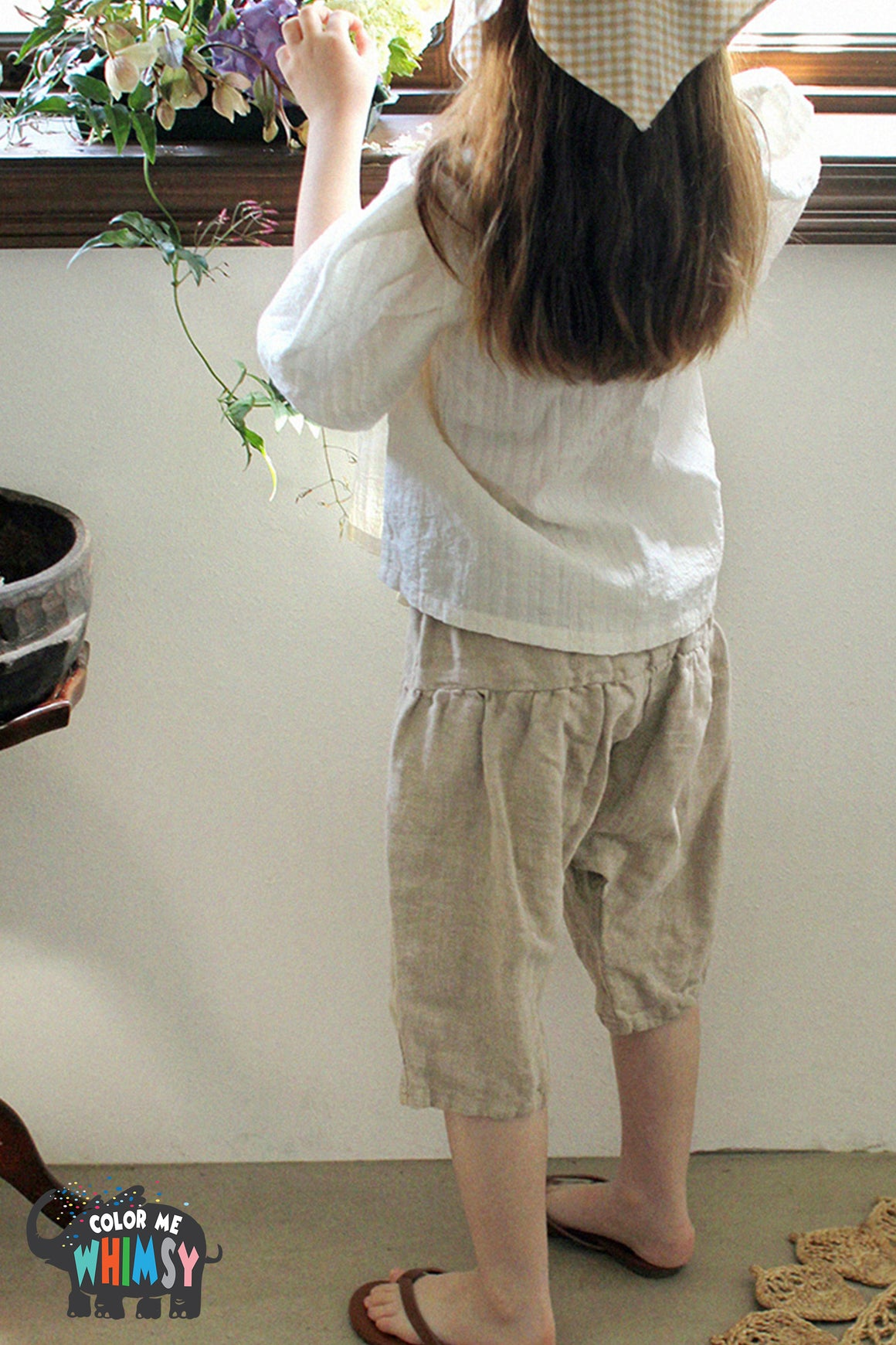 SCON Meco Pants at Color Me WHIMSY Hip Kid's Fashion Ethically Made in South Korea