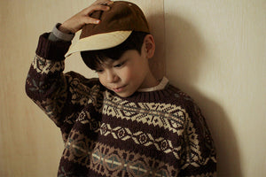 BN Ball Coloring Cap at Color Me Whimsy hip kids fashion ethically made in korea