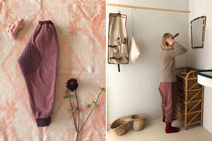 BN Quilted Jogger Pants - Sold Out - Color Me WHIMSY