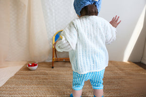 BN Ribbed Cardigan at Color Me WHIMSY Hip Kid's Fashion Ethically Made in South Korea