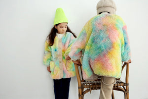 BN Brush-Trap Jacket at Color Me WHIMSY Hip Kid's Fashion Ethically Made in South Korea