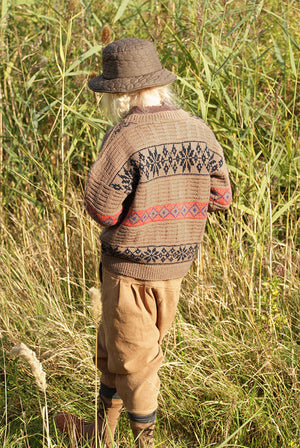 BN Paris Knit Pullover at Color Me WHIMSY Hip Kid's Fashion Ethically Made in South Korea