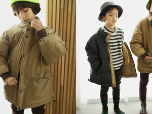 BN Reversible Padded Jacket at Color Me WHIMSY Hip Kid's Fashion Ethically Made in South Korea