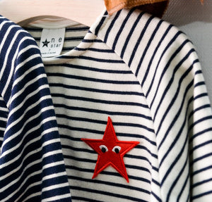 NE Star Striped Starry Tee - Color Me WHIMSY