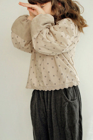 SCON Manon Blouse at Color Me WHIMSY Hip Kid's Fashion Ethically Made in South Korea