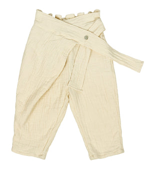 SCON Louis Wrap Pants at Color Me WHIMSY hip kid's fashion ethically made in south korea