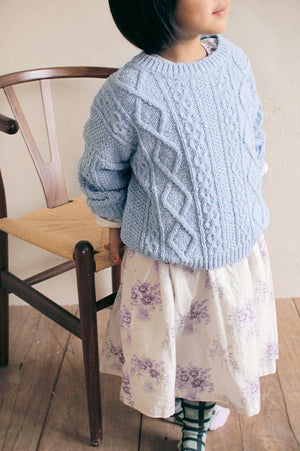 BN Cable Knit Pullover - Two Colors - Color Me WHIMSY